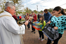 Pet Blessings at St. Michael's