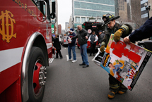 Chicago Firefighters and Paramedics Local 2 Toy Parade
