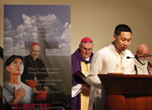 Second anniversary of the enshrinement of St. Pedro Calungsod at Old St Mary's Church