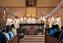 Dedication of the Altar at St. Stephen Protomartyr