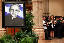 Mass in honor of Archbishop Oscar Romero's Beatification