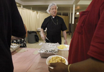 Saturday Hot Breakfast Program at Our Lady of Sorrows Basilica