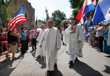 Archbishop Cupich celebrates with fellow Croatians at annual Velika Gospa Fest