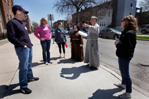St. Clement Service Day at Our Lady of the Angels Mission