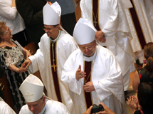 Welcome Bishops Rojas and Wypych