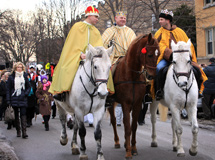 Procession in honor of Epiphany