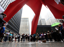 Palm Sunday and International World Youth Day at Federal Plaza